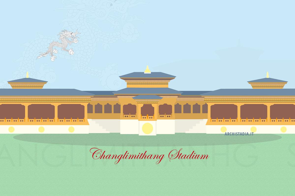 stadio bhutan nazionale calcio