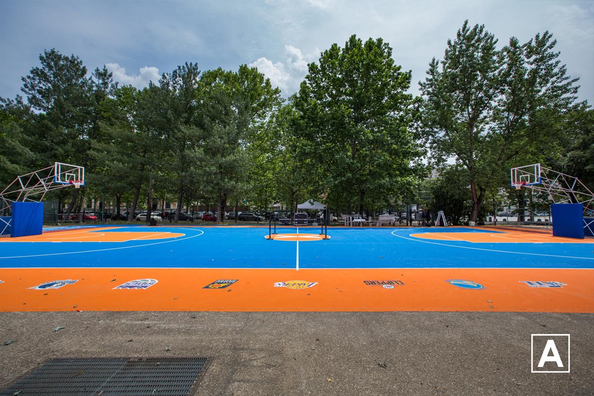 playground campo basket torino piazza d'armi