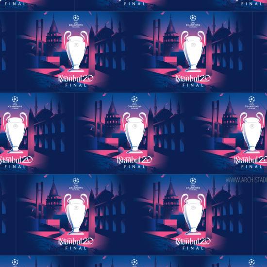visual identity champions league 2020 copertina