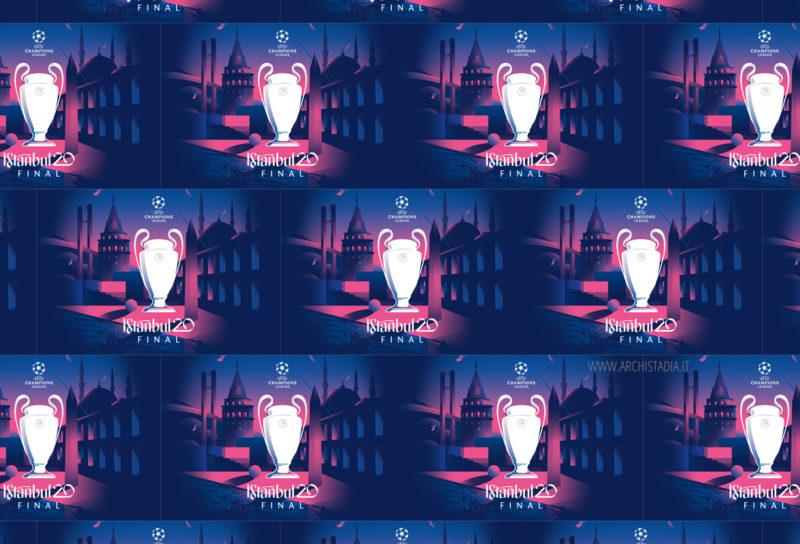 istanbul visual identity champions league 2020 copertina