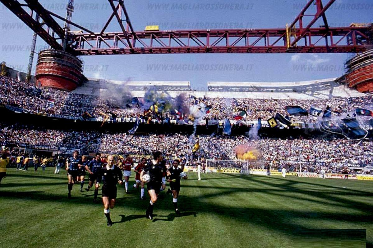 derby 1989 milano san siro stadio