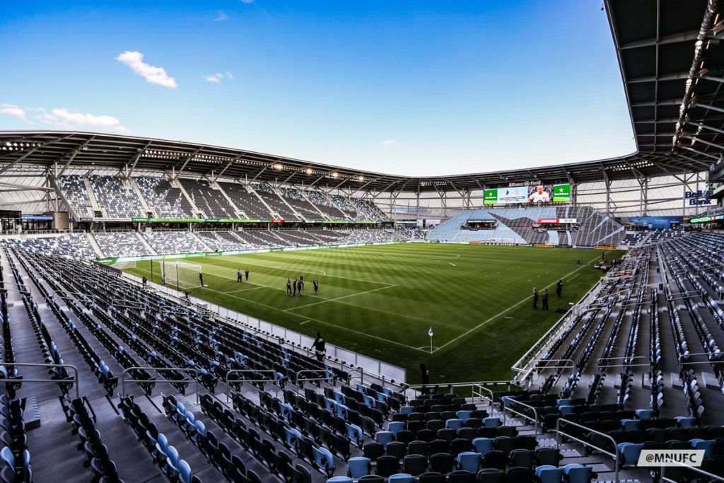 allianz field minnesota united