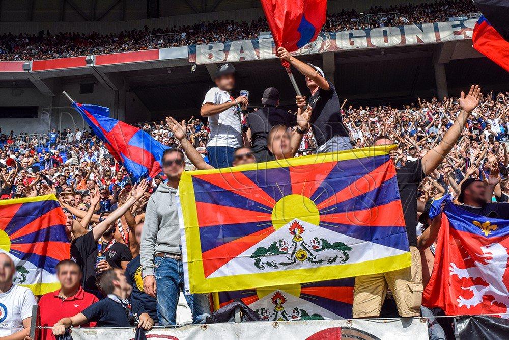 lione bad gones protesta tibet nantes 2019