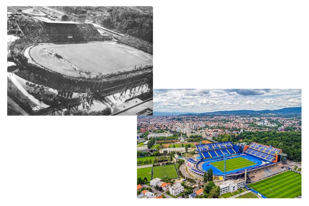 stadio zagabria maksimir storia