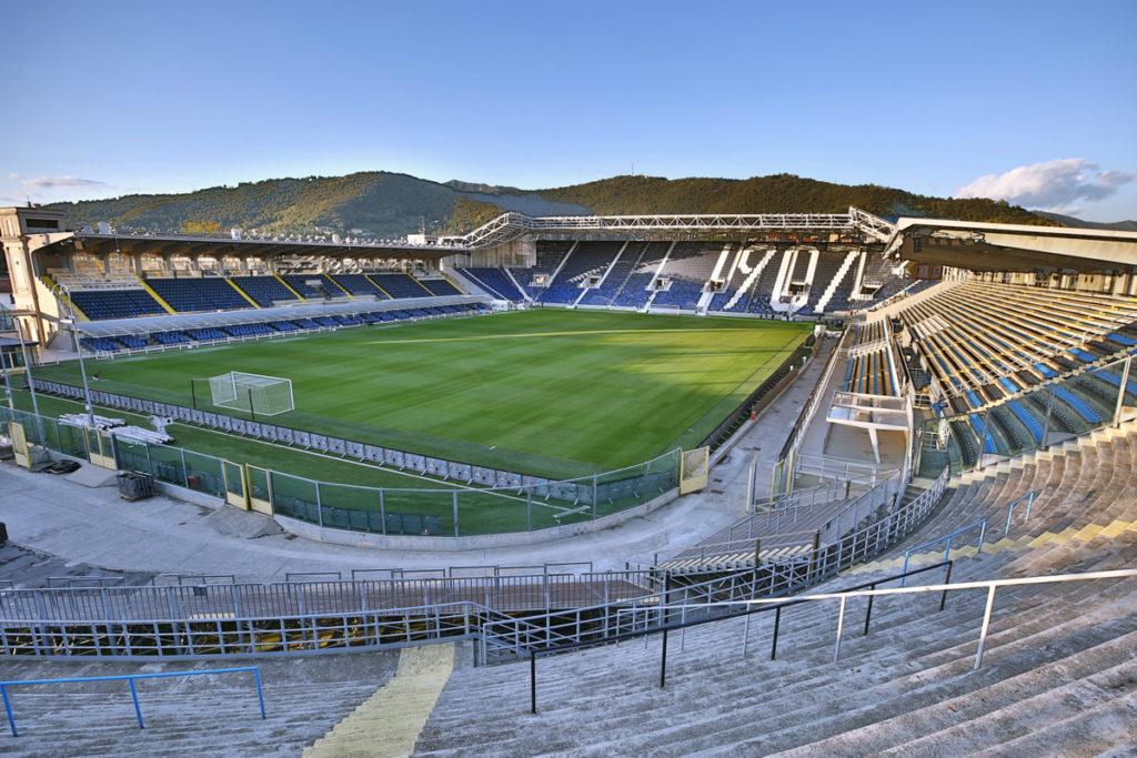 atalanta gewiss stadium curva nord pisani
