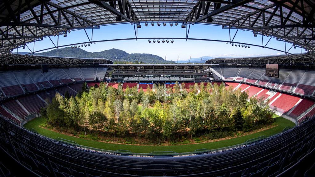 for forest stadio klagenfurt