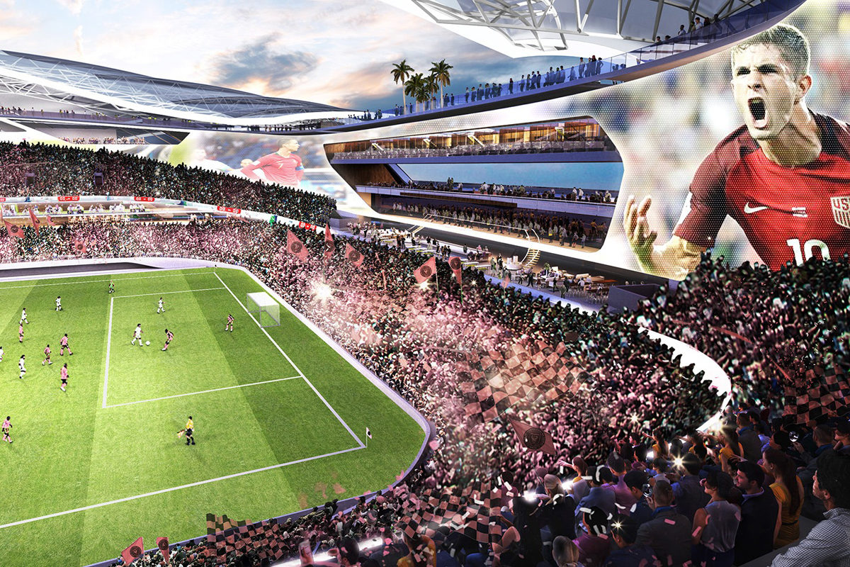 nuovo stadio Inter Miami CF