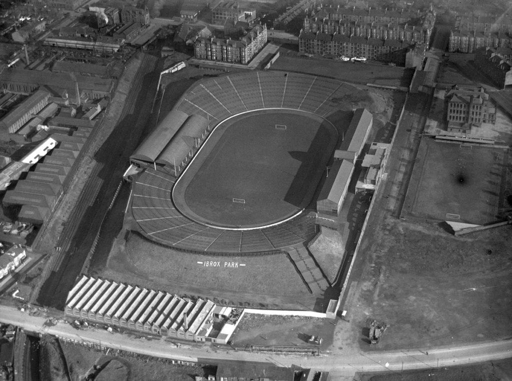 Ibrox Glasgow 1927