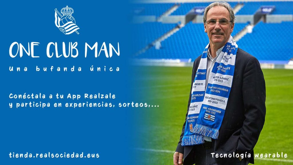 real sociedad app sciarpa smart