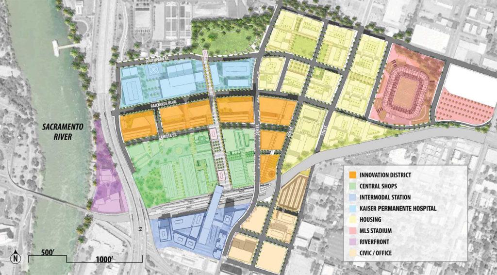 sacramento railyards district archpaper progetto architettura