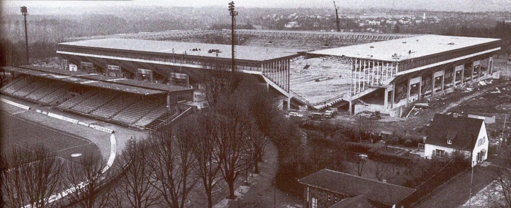 westfalenstadion dortmund 1974