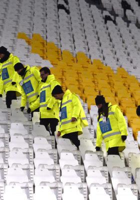 juventus stadium steward