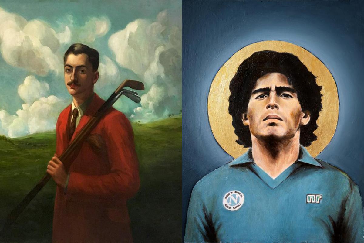 portraits d'athletes musee du sport nice