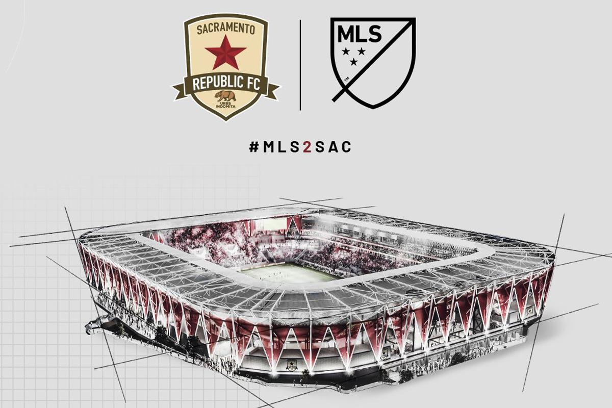 sacramento republic nuovo stadio mls