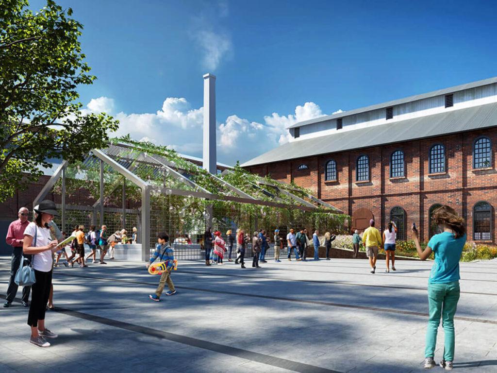 sacramento railyards project architettura
