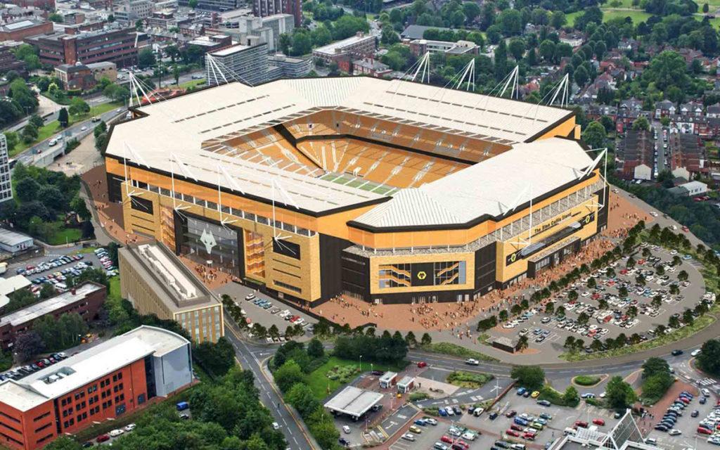 Molineux Wolverhampton progetto ampliamento