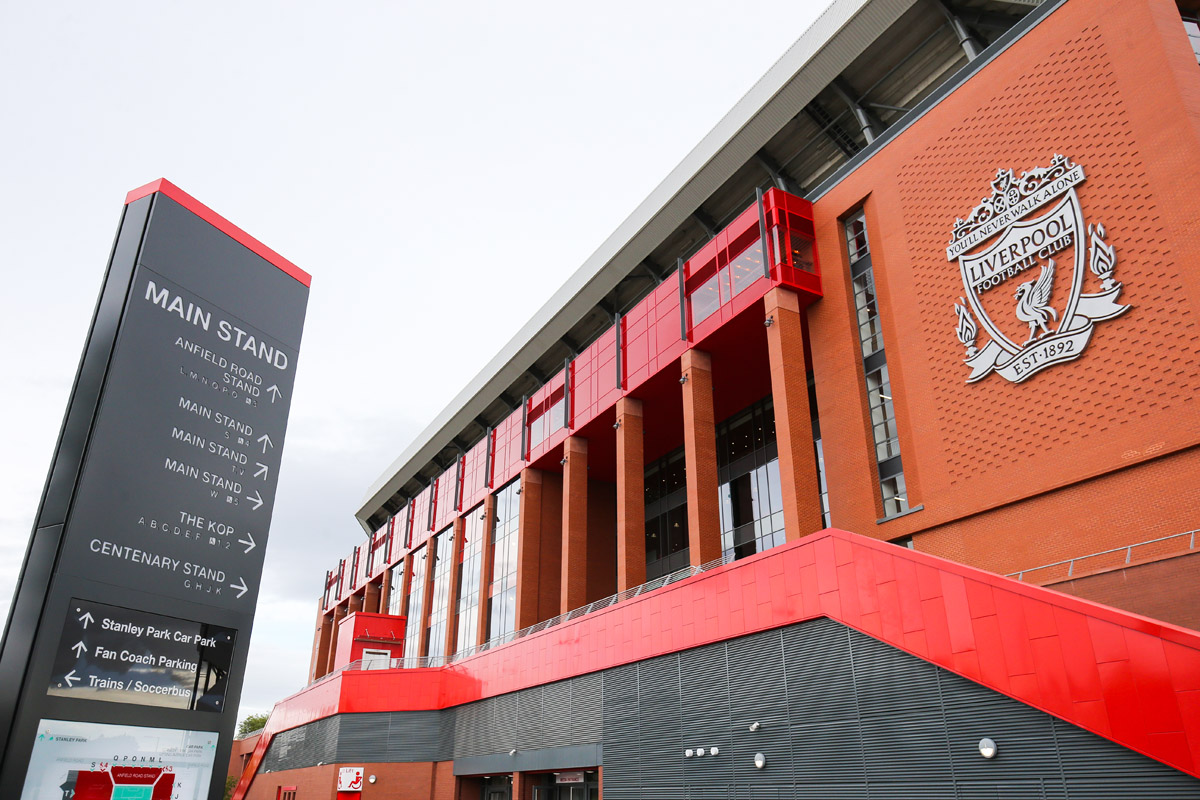 anfield liverpool main stand