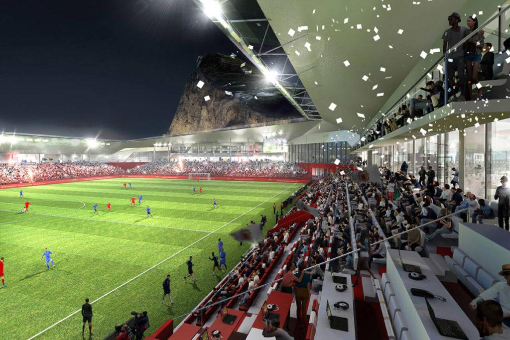 Gibilterra progetto stadio nazionale