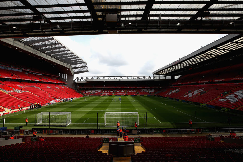 liverpool anfield road stand