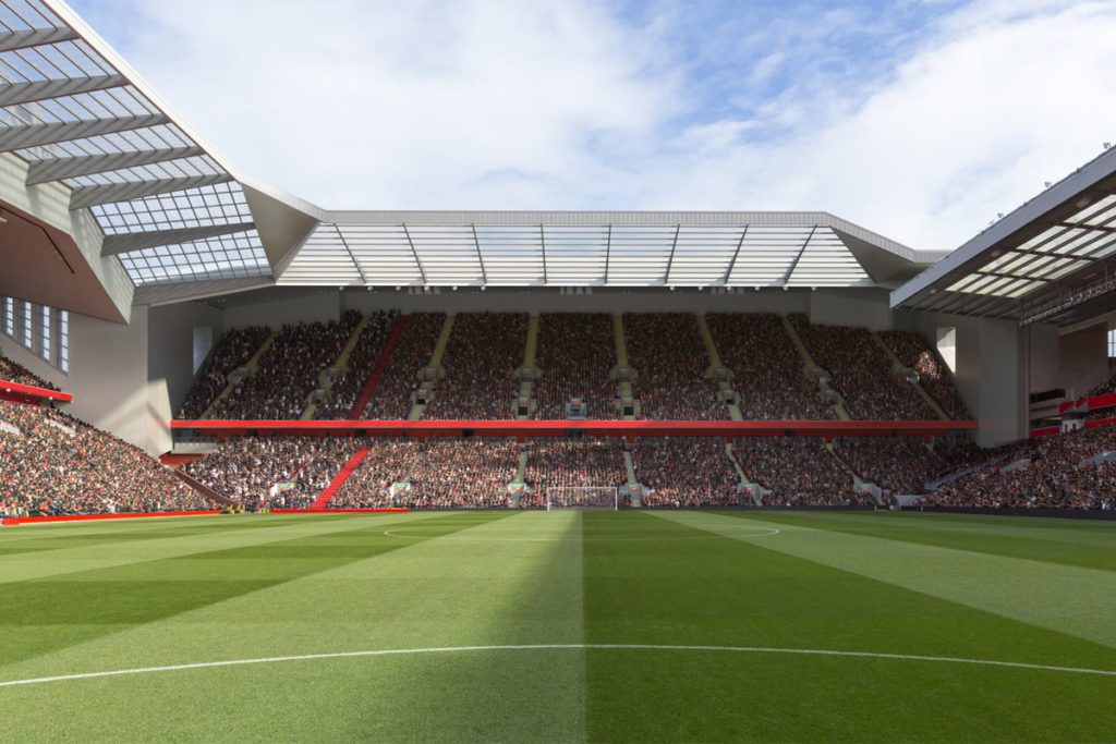 liverpool anfield road stand ampliamento