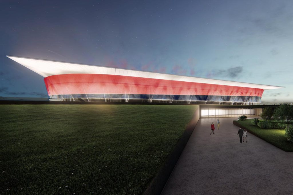 proposta nuovo stadio cagliari js one works