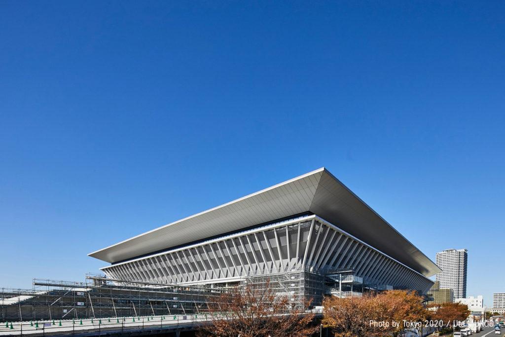 Tokyo Aquatics Centre Olimpiadi 2020 architettura