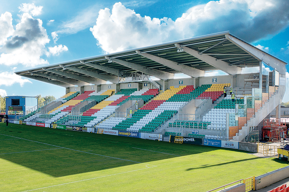 Tallaght Stadium progetto ampliamento Dublino