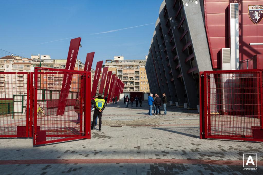 stadio filadelfia piazzale della memoria torino