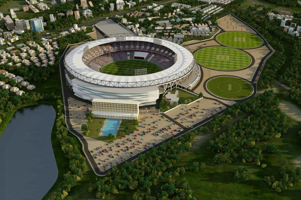 Motera Cricket Stadium Populous architettura