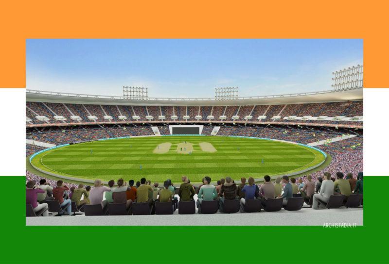 Motera Cricket Stadium Populous architettura
