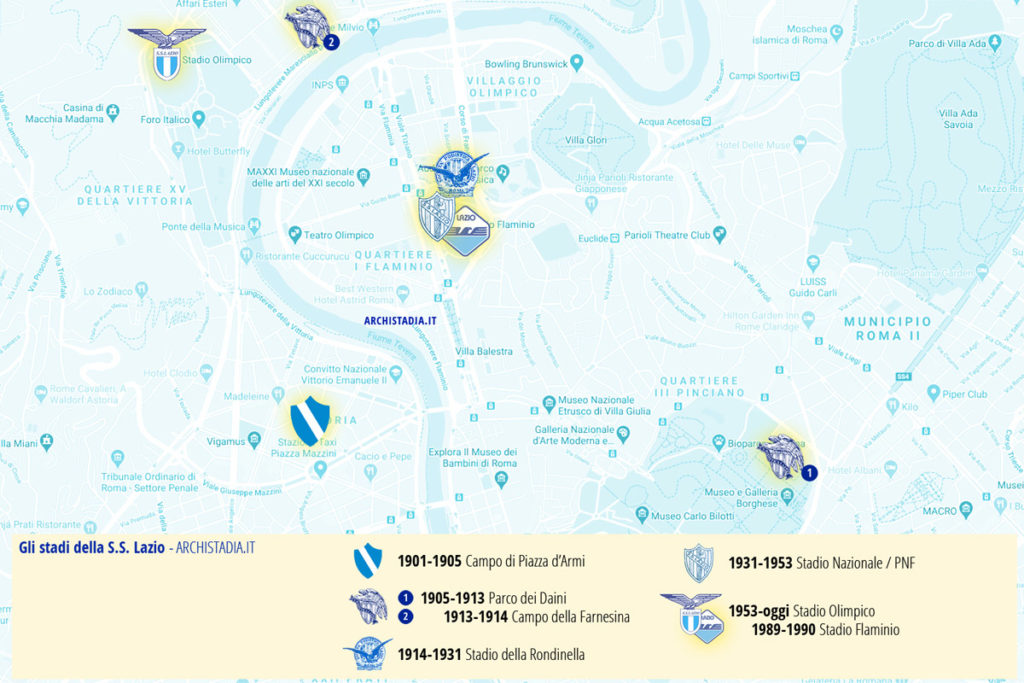 lazio-storia-stadi-mappa