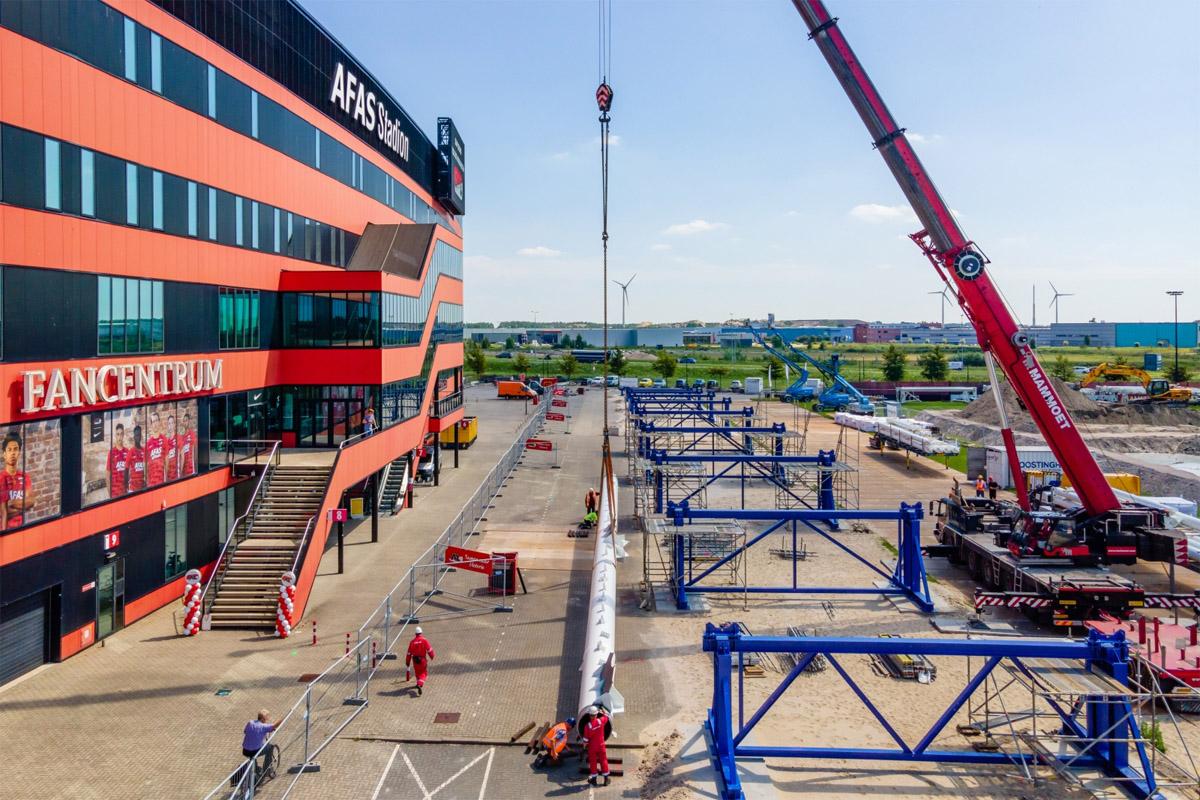 az-alkmaar-afas-stadion-lavori-tetto
