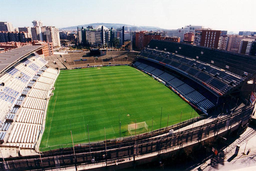 estadi sarrià barcellona espanyol
