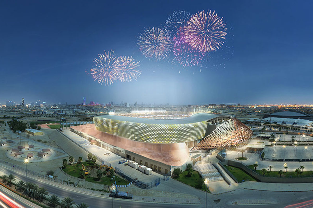 king saud university stadium riyad restyling nuovo nome