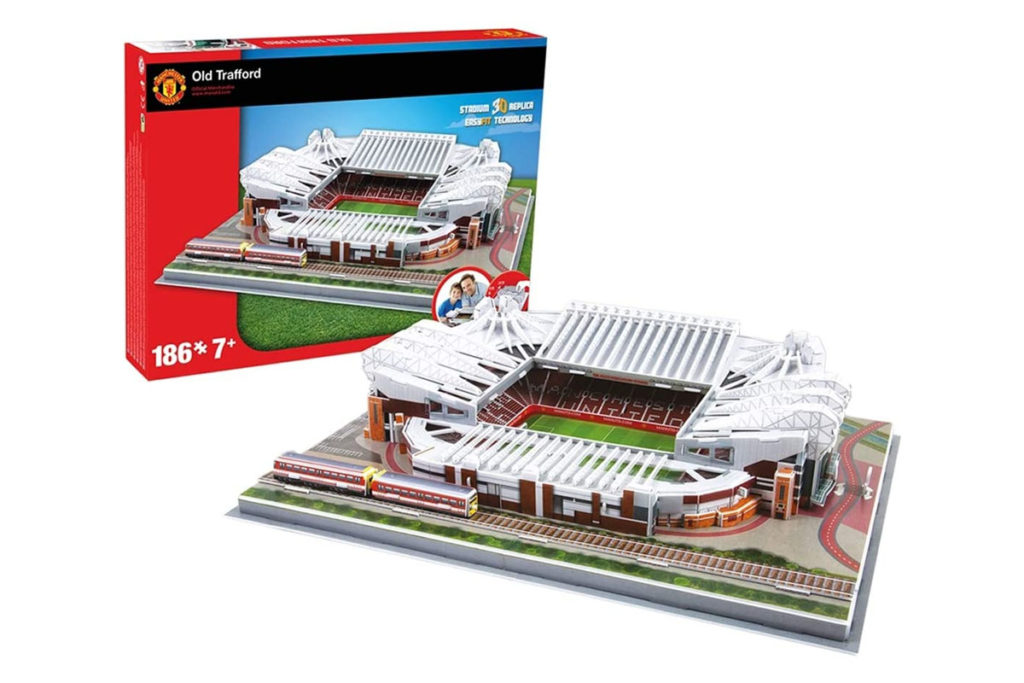 puzzle 3d old trafford stadio
