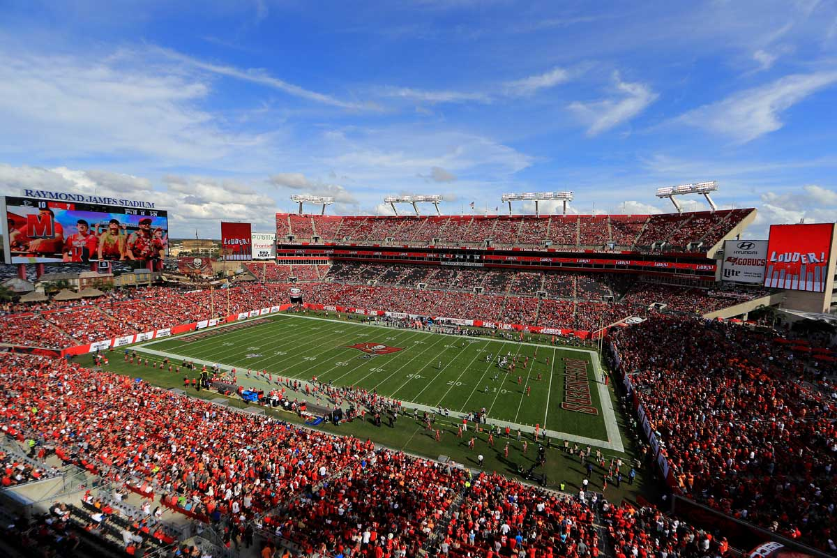 tampa raymond james stadium super bowl