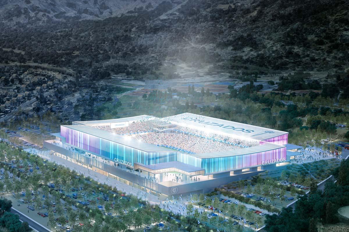 cile nuovo stadio universidad catolica