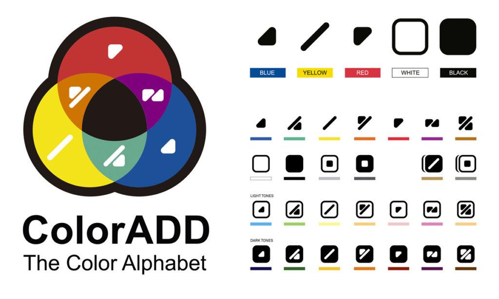 coloradd codice colori daltonici