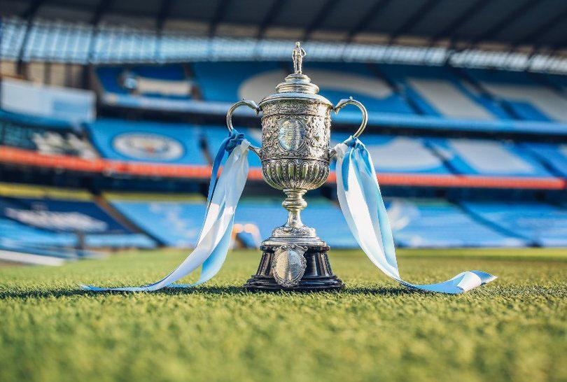 fa cup manchester city trofeo