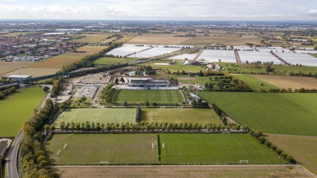 albinoleffe campus vista aerea