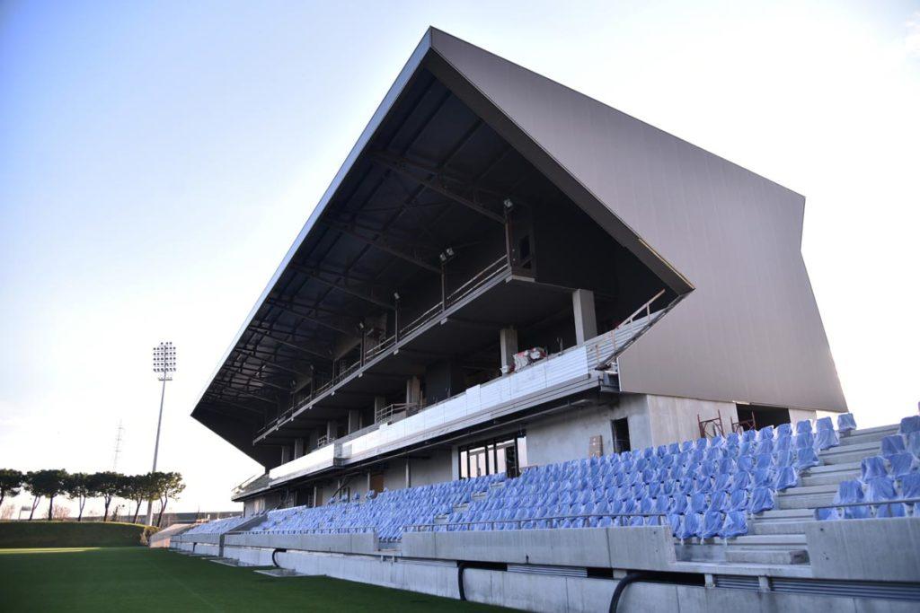 albinoLeffe campus vista tribuna stadio