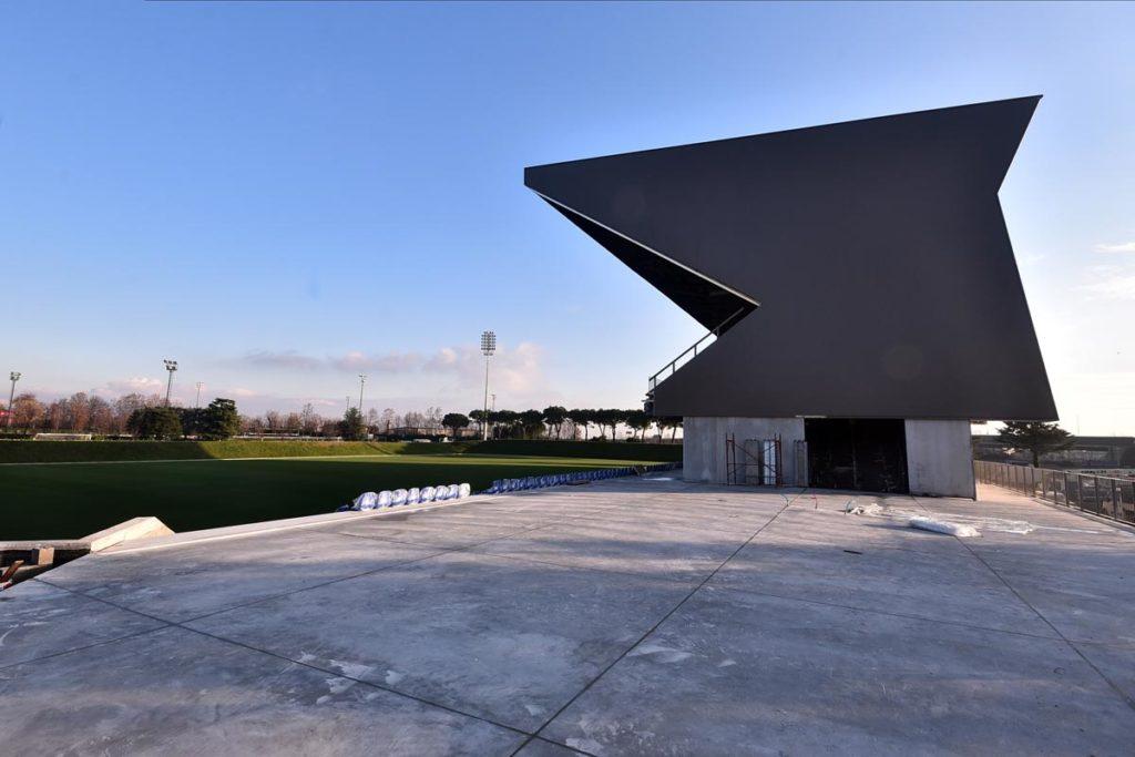 albinoLeffe campus vista laterale tribuna stadio