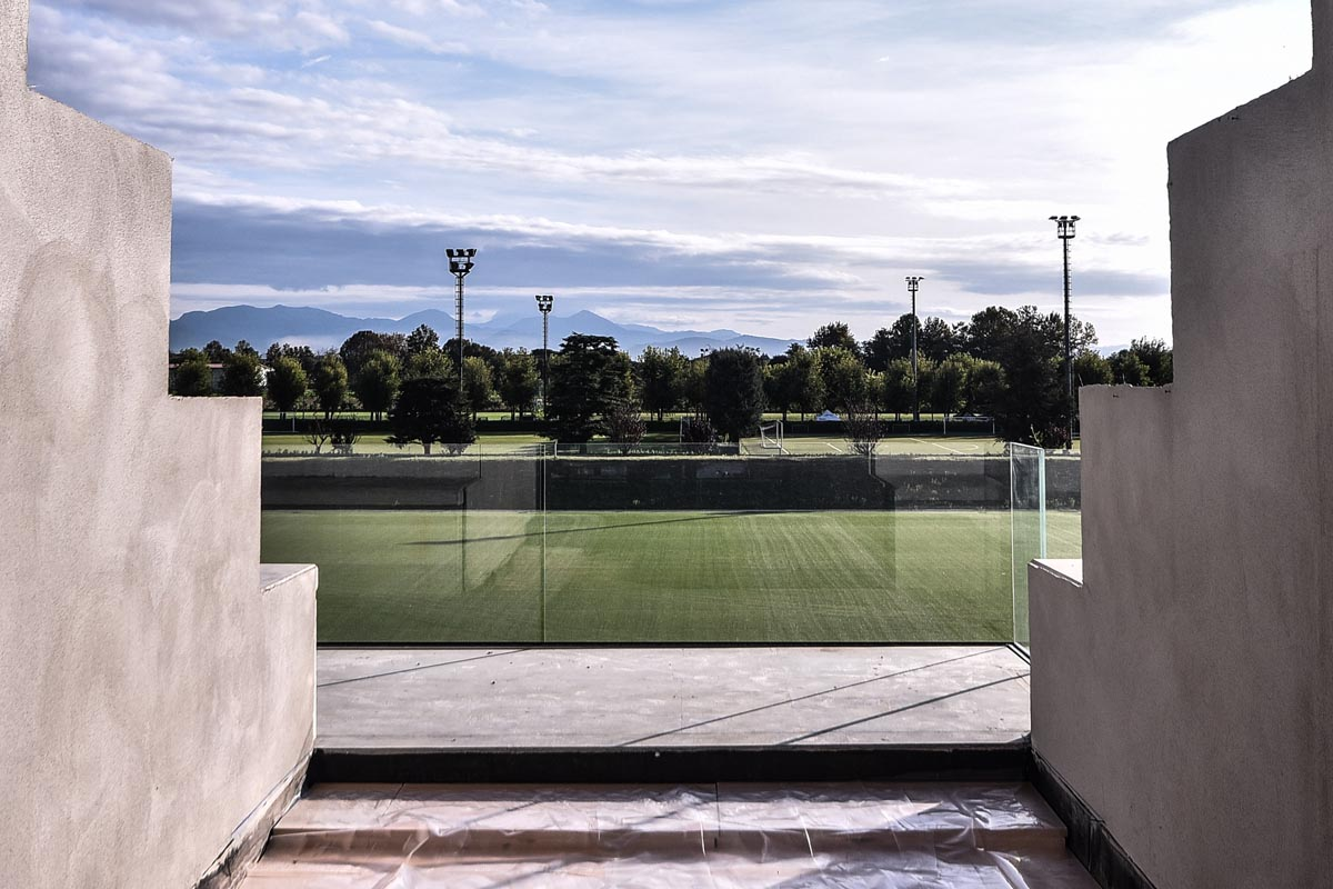 albinoLeffe campus vista stadio