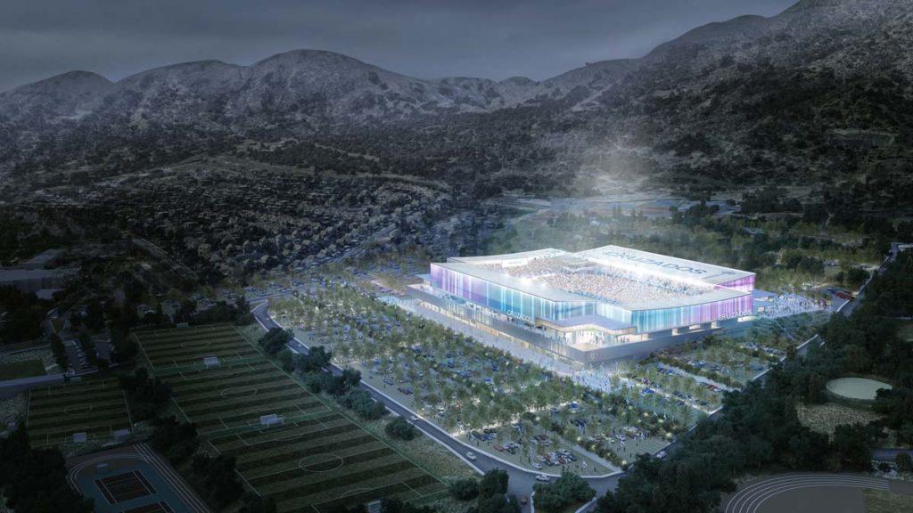 cile nuovo stadio universidad catolica vista aerea