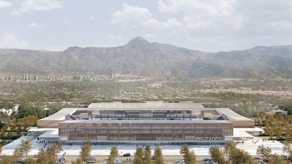 cile nuovo stadio universidad catolica vista esterna