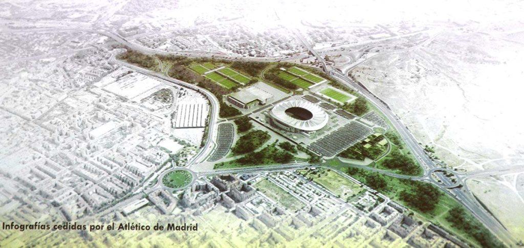 madrid cittadella sportiva wanda metropolitano
