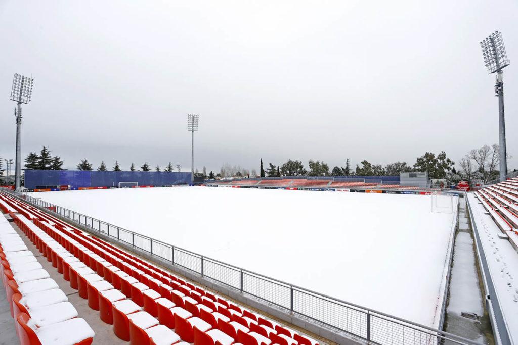 neve madrid centro allenamento atletico