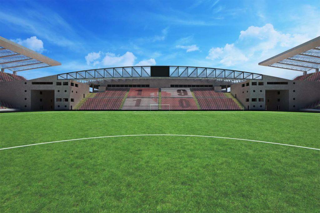 padova nuovo stadio euganeo curva sud