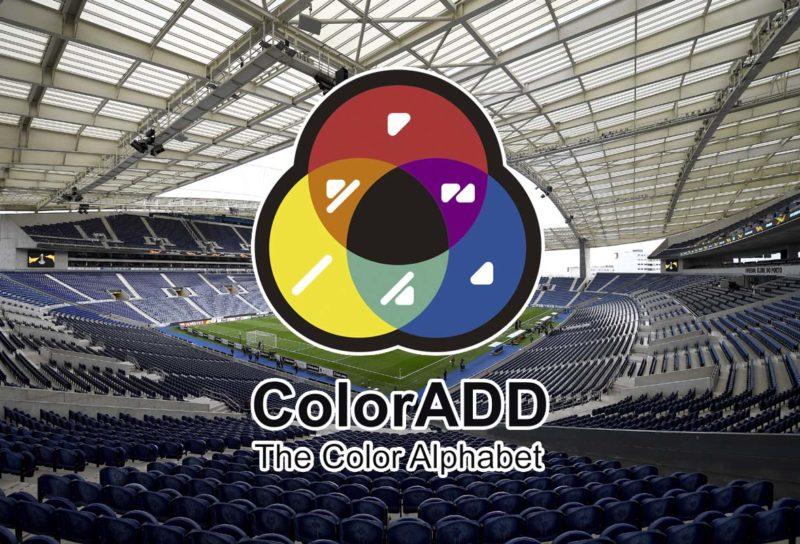 porto stadio sistema colori daltonici coloradd