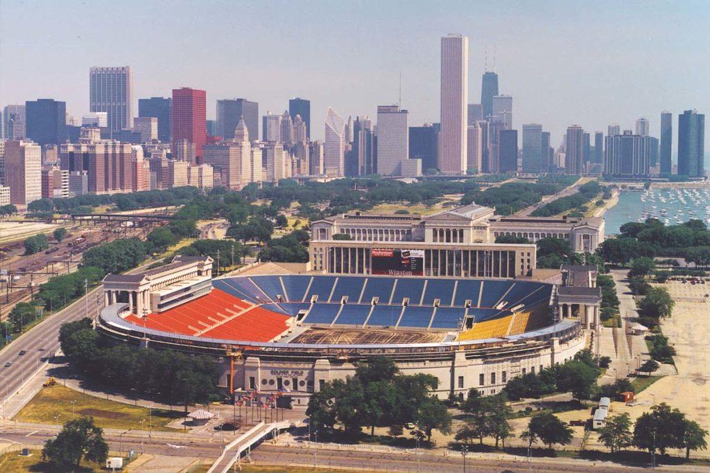 soldier field chicago 1994 vista aerea